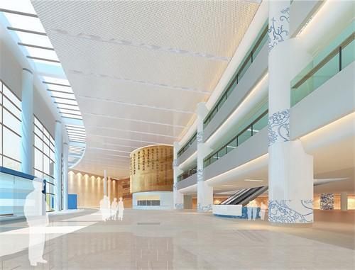 北大国际医院_美国室内设计中文网
