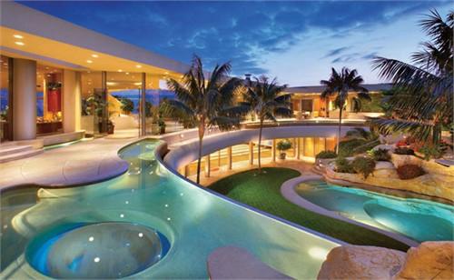 亚美利加私人会所设计 超现代设计风格_美国室内设计