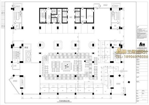 美食广场平面设计