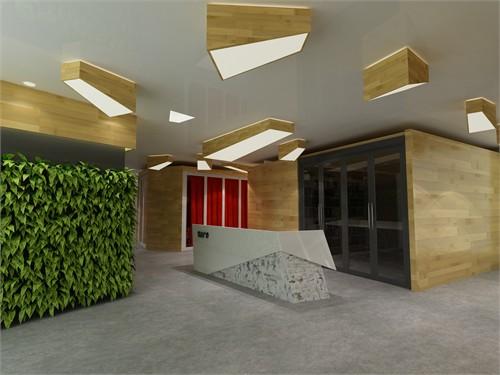 艺尚广告公司办公空间设计