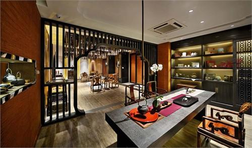 主营金丝楠木家具,并提供定制化服务以及茶席的软装