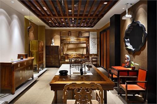 金丝楠木会所_美国室内设计中文网