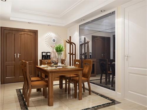 用深色的乌金木家具与布艺的完美结合,来体现简约风格的惬意,精细的