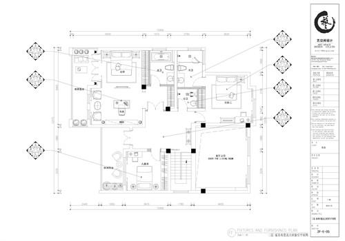 二层卧室平面图