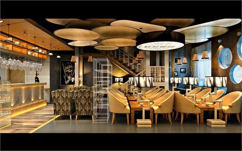 爱哇卡主题咖啡厅_美国室内设计中文网