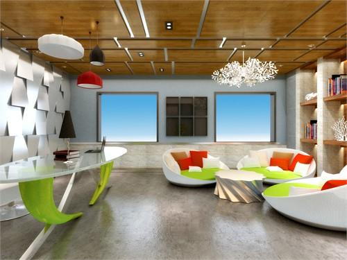 正大钢结构有限公司办公空间概念设计