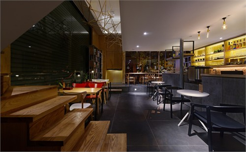 【慢象】咖啡厅_美国室内设计中文网