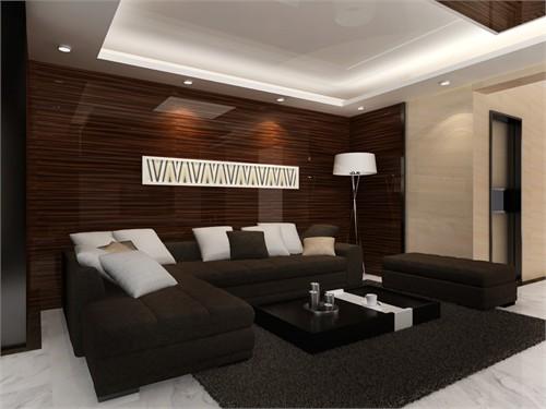 木纹壁纸室内装修