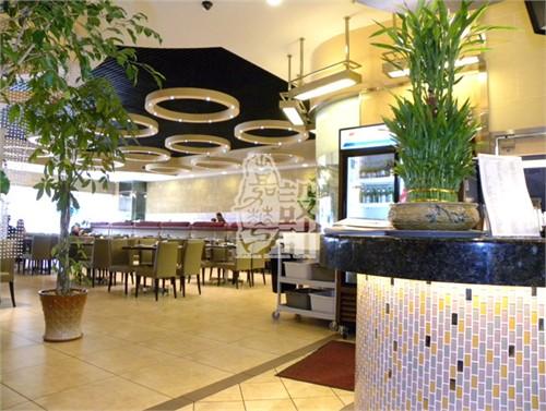 美国绿岛餐厅装饰工程设计项目