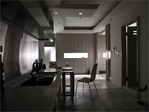 化繁为简的空间美学.三峡_美国室内设计中文网