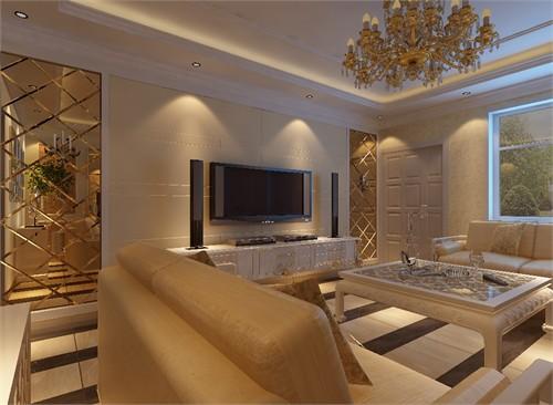 别墅设计,建筑面积260平,室内实用面积240平,环境优美,定位于欧式风格图片