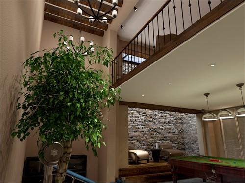 别墅地下室设计_美国室内设计中文网