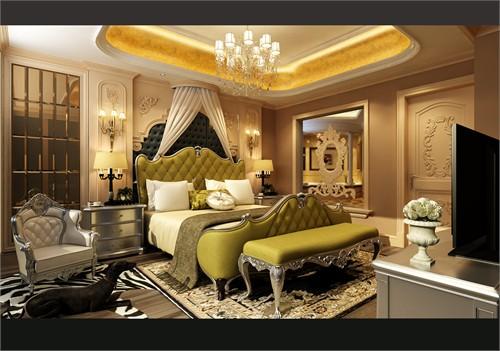法式中的巴洛克_美国室内设计中文网