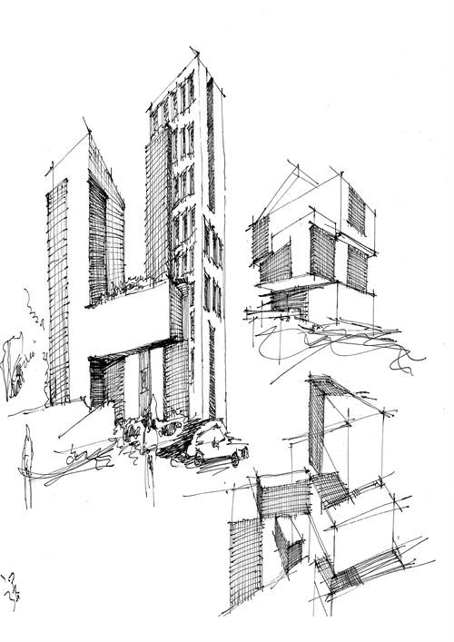 建筑设计速写_美国室内设计中文网