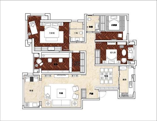 浐灞半岛--新中式私人住宅