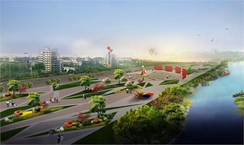 三河市滨水广场景观设计