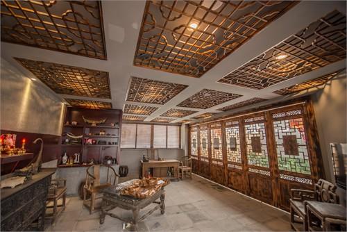 欧式餐厅吊顶酒店式
