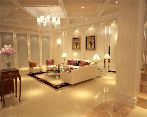 别墅一楼大厅设计