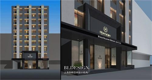 郑州专业酒店设计公司-铂珺精品主题酒店设计-酒店建筑外观设计