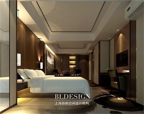 郑州专业酒店设计公司-铂珺精品主题酒店设计-酒店商务客房设计效果图