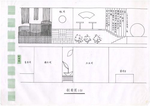 平面图竹林画室内设计公司市场占比图片