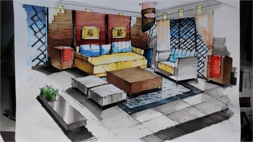 室内效果图手绘