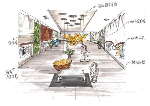 氧气生活————环保服装店设计