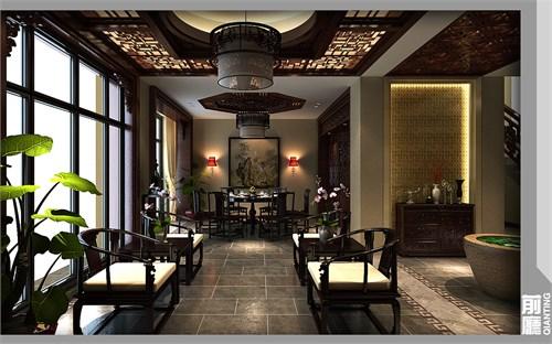 中式别墅_美国室内设计中文网