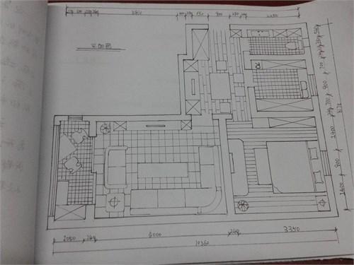 手绘平面图设计稿