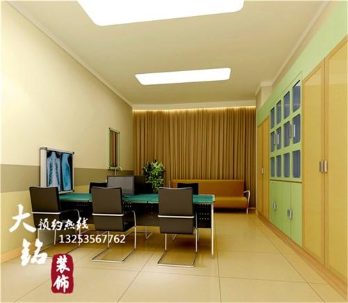 河南郸城人民医院病房综合楼装修设计_美国室内设计
