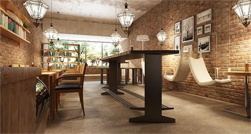 咖啡厅_美国室内设计中文网