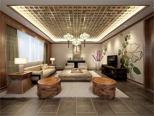 现代新中式别墅装修工程