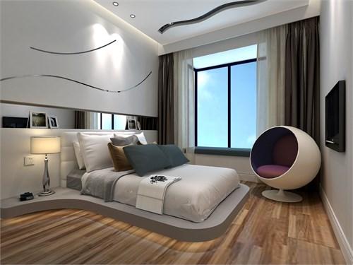 欧式卧室隐形窗户