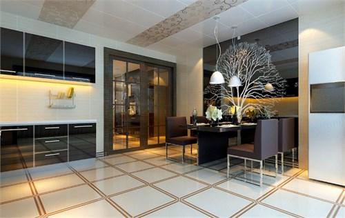房间的设计以简约欧式为主
