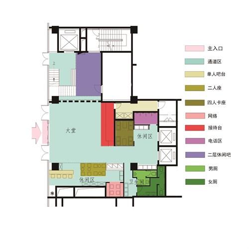 酒店直线职能制直线组织结构图