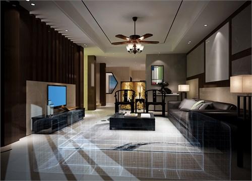 沙发背景木条装饰