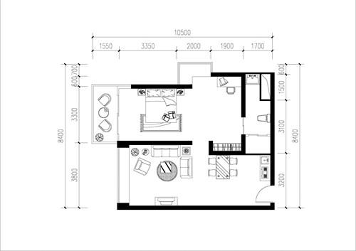 小户型客厅概念设计图片