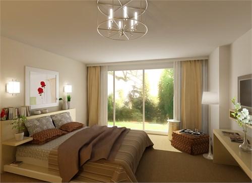 卧室效果图_美国室内设计中文网