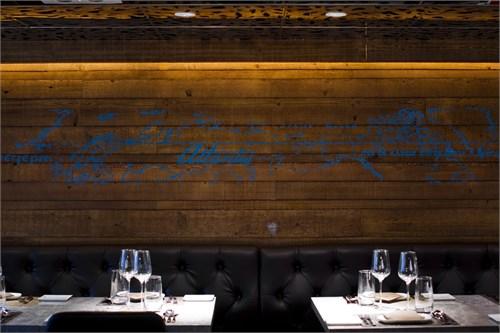 提供新派美食的高级西餐厅, 名字 取自古希腊传说中的小岛atlantis