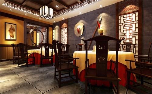 好汉锅主题餐厅设计_美国室内设计中文网
