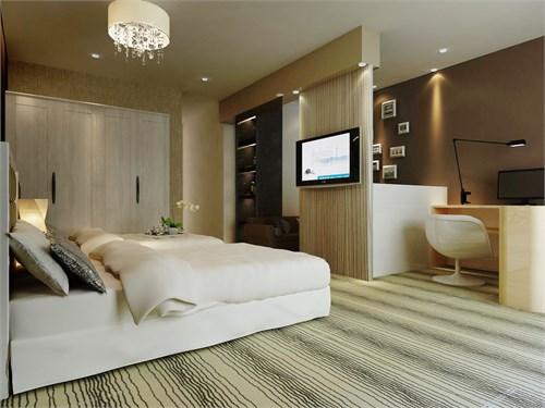 简约商务快捷酒店_美国室内设计中文网