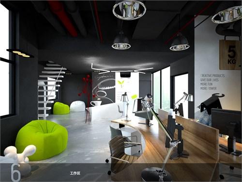loft居室+工作室设计