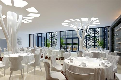 树餐厅_美国室内设计中文网