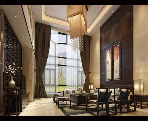 天域新中式别墅_美国室内设计中文网