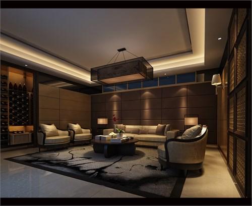 新中式影音室