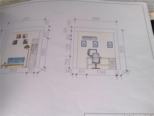 儿童房平面设计图