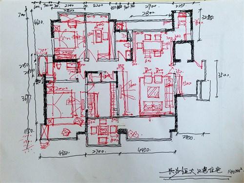 前期手绘平面草图