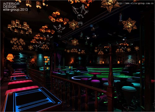 69 案例                        项目名称:海南海口老城酒吧