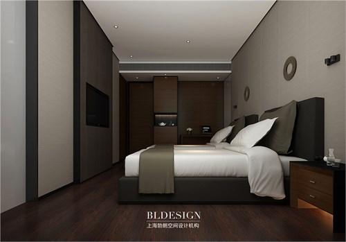 中式文化特色主题酒店设计方案-兰泽水舍精品酒店设计效果图-商务客房图片
