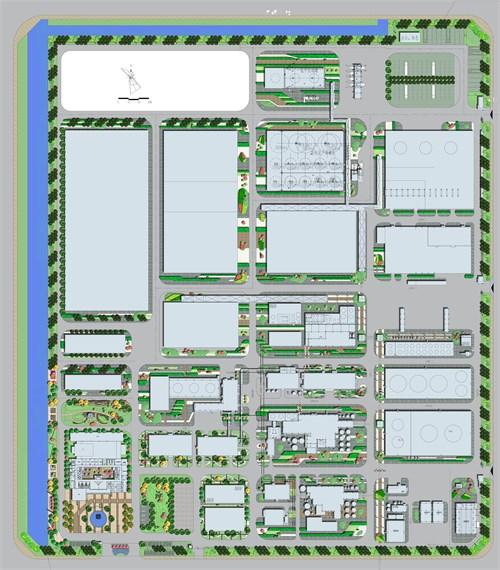 如何画厂房平面图